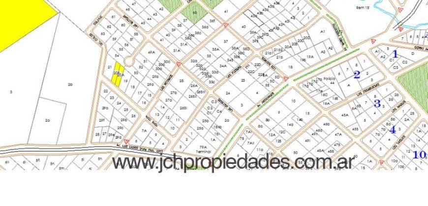 L31 LOTE A CUATRO CUADRAS DE LA AV. ARRAYANES – CENTRO VILLA LA ANGOSTURA